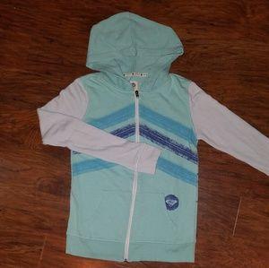 Roxy hooded zip-up